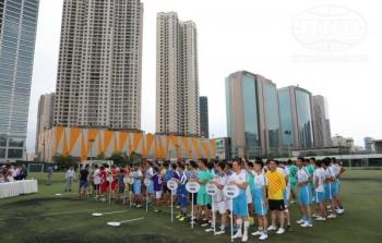 Khai mạc Giải bóng đá HUD 2019 chào mừng 30 năm Ngày Truyền thống HUD