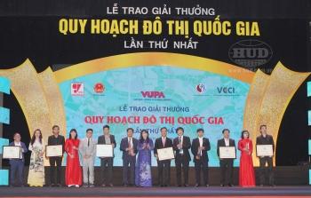 Tổng công ty HUD được nhận Giải thưởng Quy hoạch Đô thị Quốc gia - VUPA