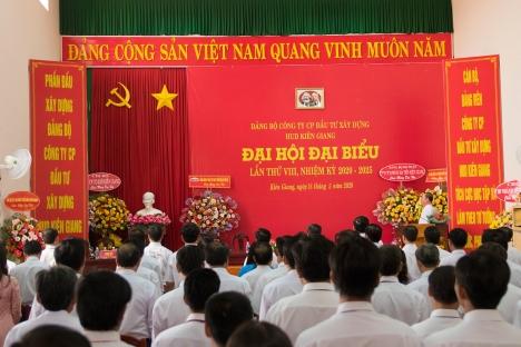 Đảng bộ HUD Kiên Giang tổ chức thành công Đại hội đại biểu nhiệm kỳ 2020-2025