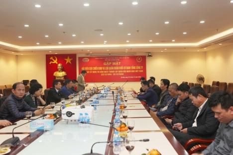 Tổng công ty HUD gặp mặt cán bộ, nhân viên đã từng phục vụ trong quân đội nhân dân Việt Nam