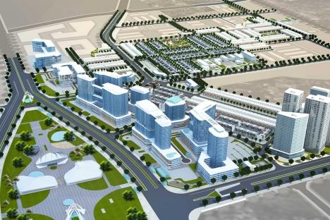 HUD đã cơ bản hoàn thành nộp tiền sử dụng đất tại dự án Khu đô thị mới Vân Canh